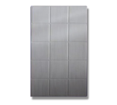 Bon Chef 52000P Full Size Tile, Aluminum/Pewter-Glo