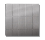 Bon Chef 52002P Double Size Tile, Aluminum/Pewter-Glo
