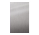 Bon Chef 52009 1/2-Size Tile, Stainless