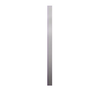 "Bon Chef 52055S WH Spacer Bar, 20.75 x 1"", Aluminum/White"