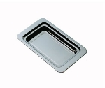 "Bon Chef 5206HR Food Pan, 2.25"" Deep, Round Handles, Stainless Steel"