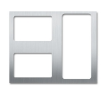 Bon Chef 52100 Custom Cut Tile For (2) 5220 & (1) 5223, Stainless