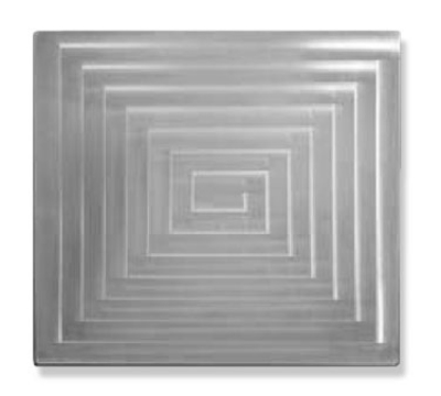 Bon Chef 52103 1-1/2 Size Rectangle Tile Inset, Stainless