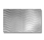 Bon Chef 52105 Full Size Swirl Tile Insert, Stainless