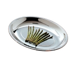 Bon Chef 5219 Oval Coupe Platter, Stainless