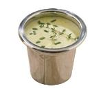 Bon Chef 5225 18-oz Condiment Pot, Stainless Steel