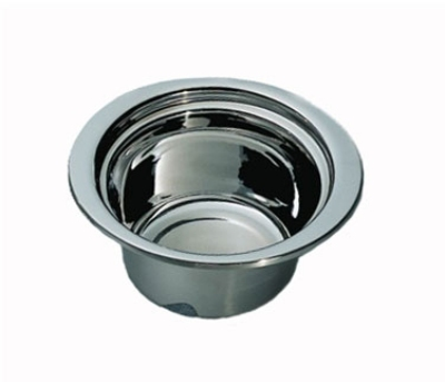 "Bon Chef 5250HLSS 2-qt Casserole Steamtable Dish, Stainless Handle, 4.75"" Deep"