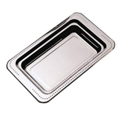 "Bon Chef 5307HR Full Size Food Pan w/ Round Handle, 1.25"" Deep, Bolero, Stainless"