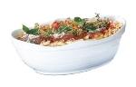 Bon Chef 53201 WH 11-qt Euro Bowl,  Melamine/White