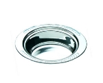 "Bon Chef 5403HR Full Oval Food Pan, Round Handle, 4.25"" Deep, Laurel, Stainless"