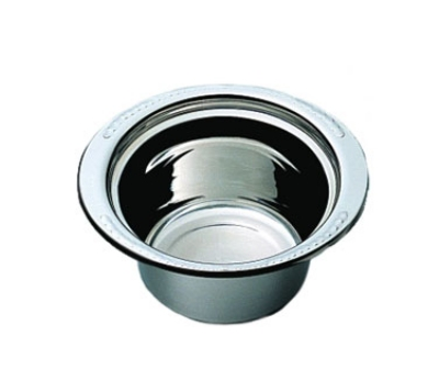 Bon Chef 5450HLSS 2-qt Round Casserole Steamtable Dish w/ Long Stainless Handle, Laurel
