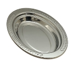 "Bon Chef 5488HR Full Oval Food Pan w/ Round Handle, 2"" Deep, Laurel, Stainless"