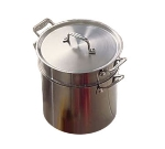Bon Chef 60003 7-qt Stock Pot w/ Cover, Induction Compatible, Stainless