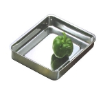 Bon Chef 60016 3-qt Cucina Food Pan, Small, Stainless Steel
