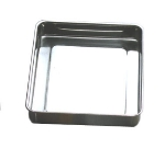 Bon Chef 60017 5-qt Cucina Food Pan, Large, Stainless Steel