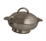 "Bon Chef 61207 10.9"" Round Insulated Hotpot Server w/ Locking Lid, Stainless"