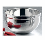 Bon Chef 61245 5-qt Double Wall Bowl, Stainless w/ Hammered Finish