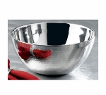 Bon Chef 61259 2.25-qt Double Wall Bowl, Stainless Steel w/ Hammered Finish