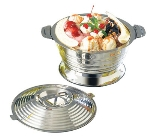 Bon Chef 61280 11.25-in Ice Cream Sundae Server, Stainless Steel