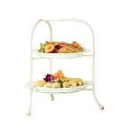 Bon Chef 7004S BLK Display Stand, fits 2036, 2067, 9091 & 9092, Aluminum/Black