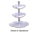 Bon Chef 70061P Platter, 3-Tier Set, Aluminum/Pewter-Glo