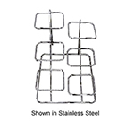 Bon Chef 7011HSS High Side Condiment Display Stand For (3) 9110, Stainless Steel