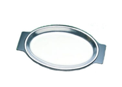 "Bon Chef 82035UB 13.75"" Unbreakable Underliner for Sizzle Plate"