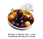 Bon Chef 9006P 7-oz Porringer Side Bowl, Aluminum/Pewter-Glo
