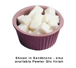 Bon Chef 9027P 4-oz Fluted Ramekin, Aluminum/Pewter-Glo