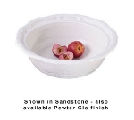 Bon Chef 9053S WH 6.5-qt Salad Bowl, Aluminum/White