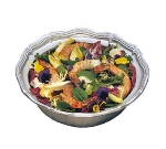 Bon Chef 9062P 2-qt Salad Pedestal Bowl, Queen Anne, Aluminum/Pewter-Glo