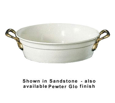 Bon Chef 9070HRP 4-qt Tulip Bowl w/  Round Handle, Aluminum/Pewter-Glo