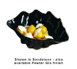 Bon Chef 9076S BLK 4-qt Conch Shell Bowl, Aluminum/Black