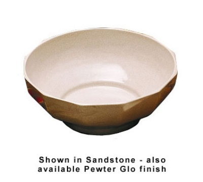 Bon Chef 9091P 4-qt Prism Serving Bowl, Footed Aluminum/Pewter-Glo