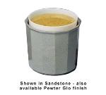 Bon Chef 9108P 3.5-qt Prism Salad Dressing Crock, Aluminum/Pewter-Glo