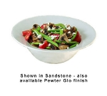"Bon Chef 9170P 11.75"" Wide Rim Bowl, Aluminum/Pewter-Glo"