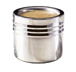 Bon Chef 9315 3-Wall Stackable Cold Wave Salad Dressing Container w/  Plastic Cover