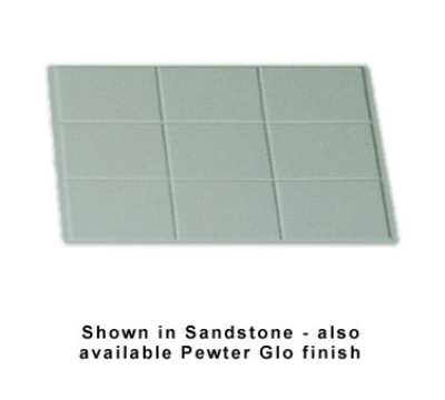 Bon Chef 96001/229140P Custom Cut Tile Tray for 5065, Aluminum/Pewter-Glo