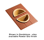 Bon Chef 960025102P Custom Cut Tile Tray for (2) 5102, Aluminum/Pewter-Glo