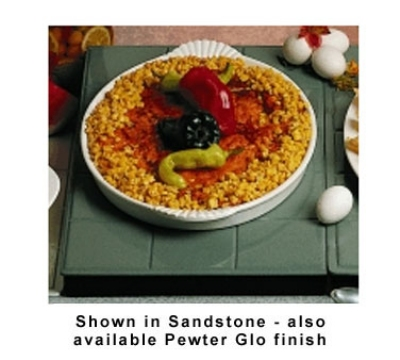Bon Chef 9600H2078P Custom Cut Tile Tray for 2078, Aluminum/Pewter-Glo