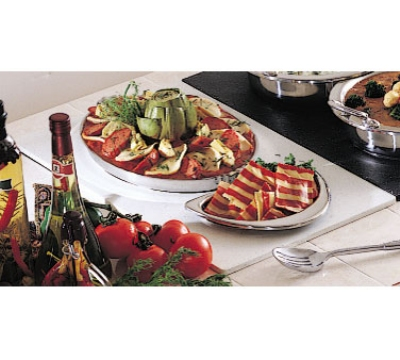 Bon Chef 961020 BLK Single Size Tile Tray for (1) 2284 & (1) 5202, Black