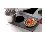 Bon Chef 961052 BLK Custom Cut Tile Tray for (2) 5226, Black