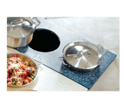 Bon Chef 961053 BLK Custom Cut Tile Tray for (2) 60000, Black