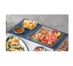 Bon Chef 961054 BLK Custom Cut Tile Tray for (1) 5216, (1) 5224 & (1) 5225, Black