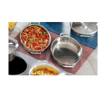 Bon Chef 961055 BLK Custom Cut Tile Tray for (2) 60002, Black