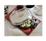 Bon Chef 961056 BLK Custom Cut Tile Tray for (1) 60004, Black