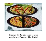 Bon Chef 963025102P Single Size Tile Tray For (2) 5102, Aluminum/Pewter-Glo