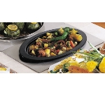 Bon Chef 966010 Full Size Tile Tray w/  Cutout for 5288HR or 5299HR, Stainless Steel