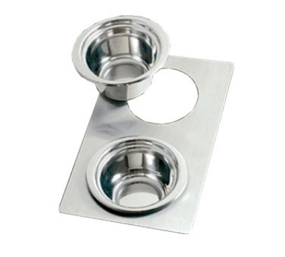 Bon Chef 966035 Full Size Tile Tray for (2) 5250, Stainless Steel
