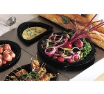 Bon Chef 966045 Full Size Tile Tray w/  Cutouts for (1) 5260 & (1) 5202, Stainless